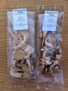 Organic Mixed Dried Mushrooms