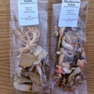 Organic Mixed Dried Mushrooms