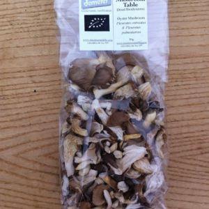 Dried Biodynamic Oyster Mushrooms