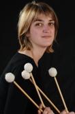 BAILLIA Cécile, professeure de percussions