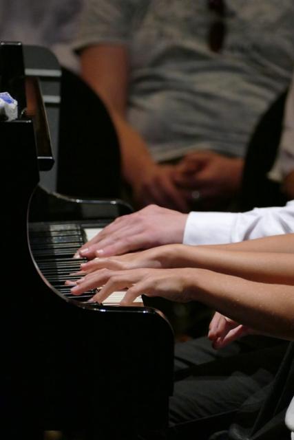 Cours de piano avec Marc LYS