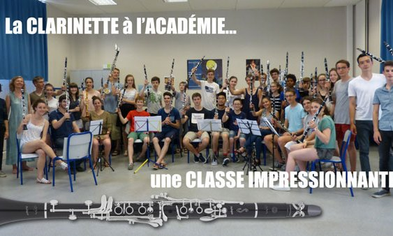 Jérôme Voisin, une personnalité en clarinette !
