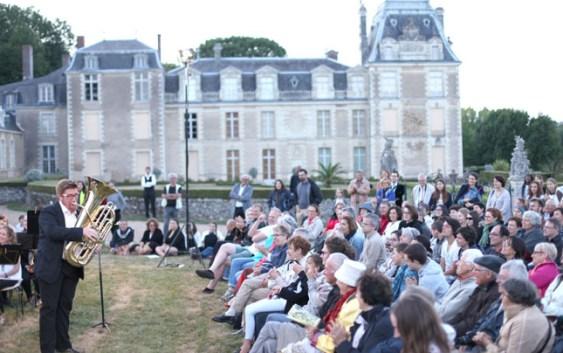 Concert en extérieur à Saint-Sulpice