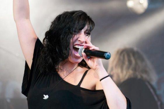 Jessy Martens & Band Ducksteinfestival Kiel 2012