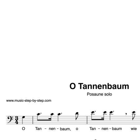 für Posaune solo, Noten und Text als pdf, Audio als mp3 by music-step-by-step