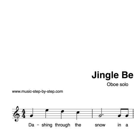 """""""Jingle Bells"""" für Oboe solo 