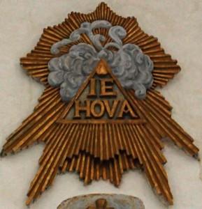 nome di dio IEHOVA
