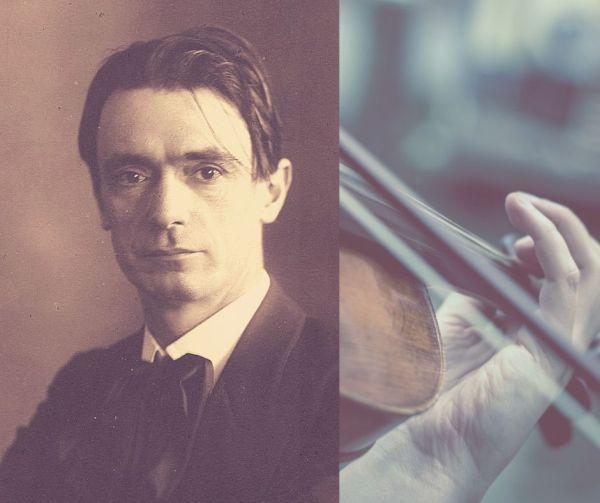 Rudolf Steiner and violin