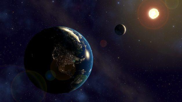 Terra, Luna, Sole e 432 Hz