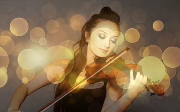 Musica, violino e geometria