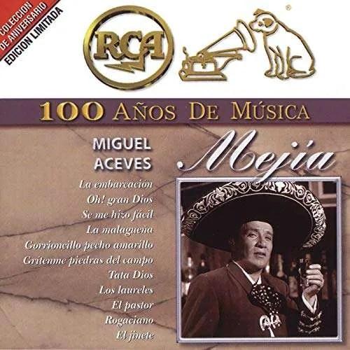 MIGUEL ACEVES MEJIA – 100 ANOS DE MUSICA (2 CDS)
