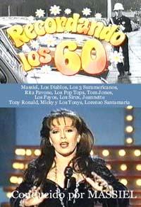 RECORDANDO LOS 60'S – VARIOS – DIRIGIDA POR MASSIEL (DVD)