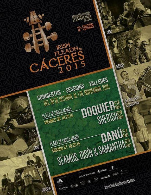 Cáceres Irish Fleadh 2015
