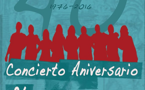 40 aniversario de Acetre, cartel de los conciertos