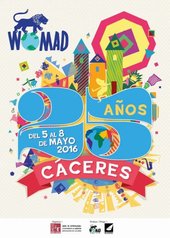 Cartel Womad Cáceres