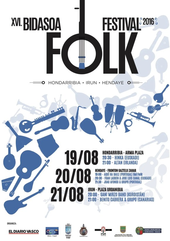 XVI Bidasoa Folk