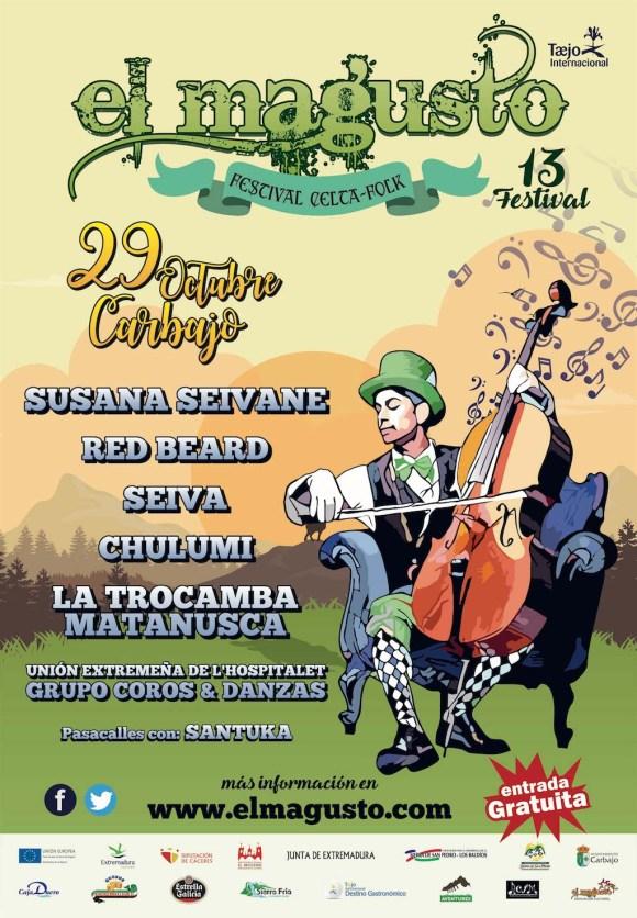 "Cartel del Festival Celta-Folk ""El Magusto"" 2016"