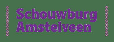 Schouwburg logo paars transparant - klein - 400x150