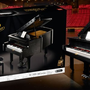 LEGO Ideas Grand Piano (21323) Official Announcement