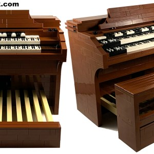 Lego Hammond RT3 Organ