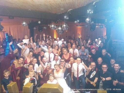 07/12/2019- CASAMENTO JULIANA E EVANDRO – R. PEDRA BRANCA – JGUÁ DO SUL – SC