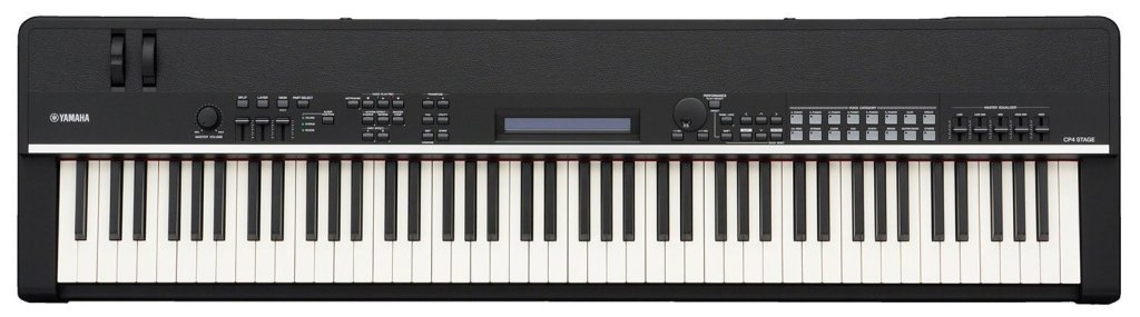 Yamaha CP4 Stage Piano with Natural Wood Keys