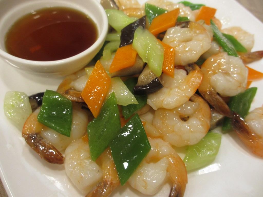 Seafood dish at Rui Fu Yuan Restaurant
