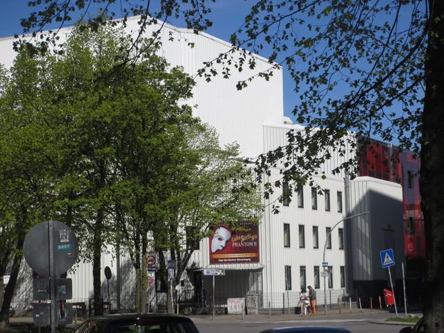 Operettenhaus stagedoor