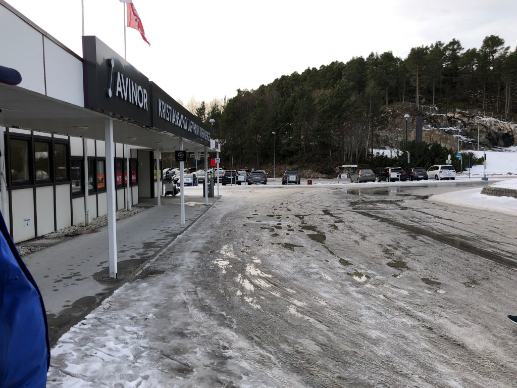 Kristiansund airport entrance