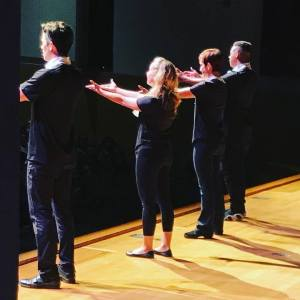 Musical Theatre Guild cast of REVOLUTION!