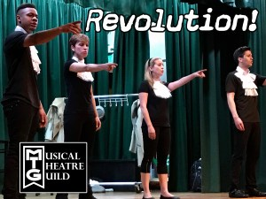 REVOLUTION! presented by Musical Theatre Guild