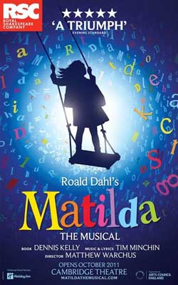 Image result for matilda theatre poster
