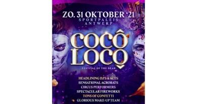 Cocô Locô verhuist op 31 oktober van de Lotto Arena naar het Sportpaleis