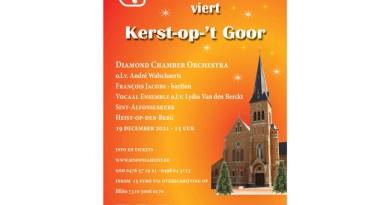 Sinfonia Heist presenteert Kerst-op-'t Goor