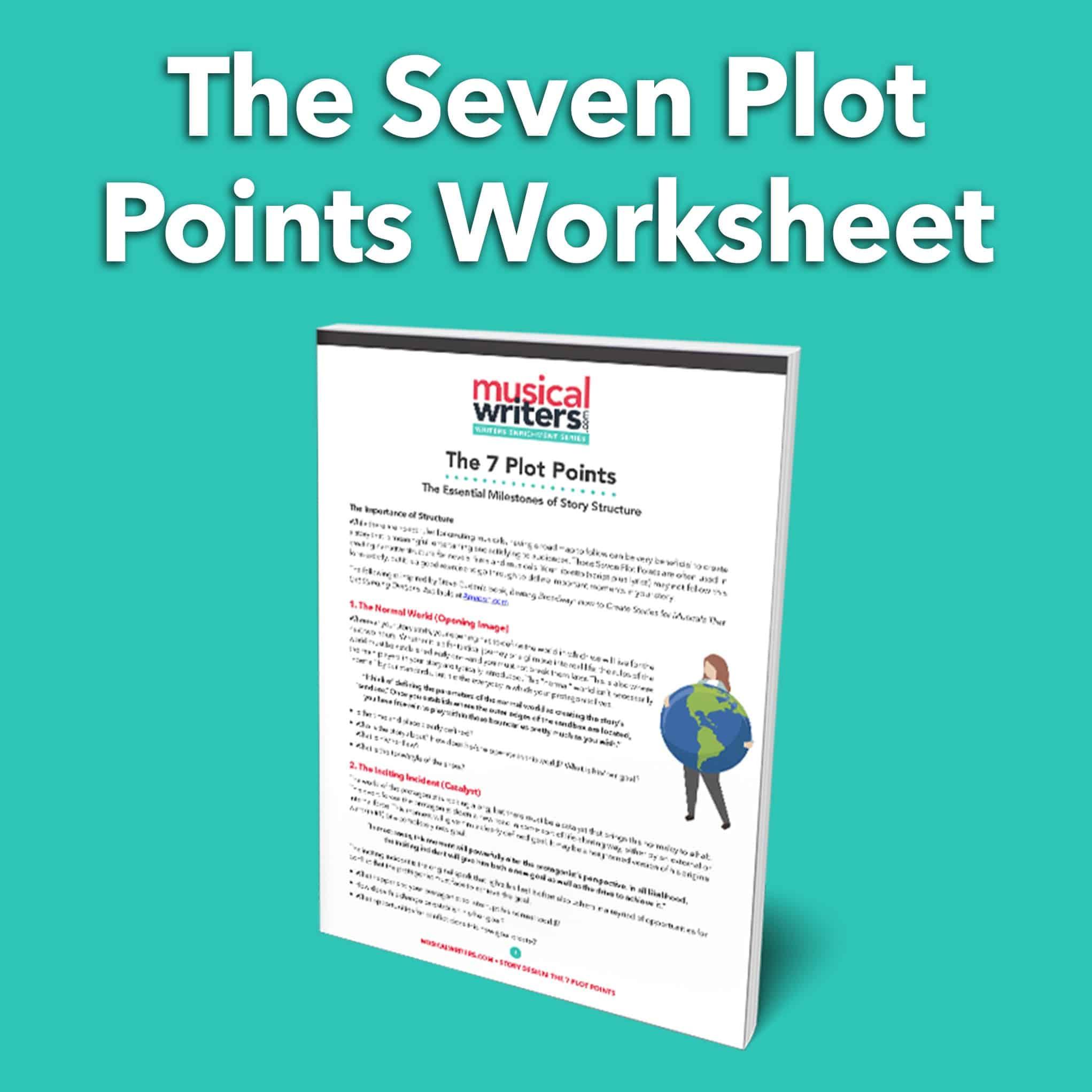 The Seven Plot Points Story Worksheet
