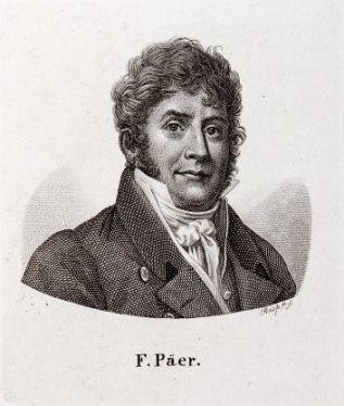 ritratto di Ferdinando Paer