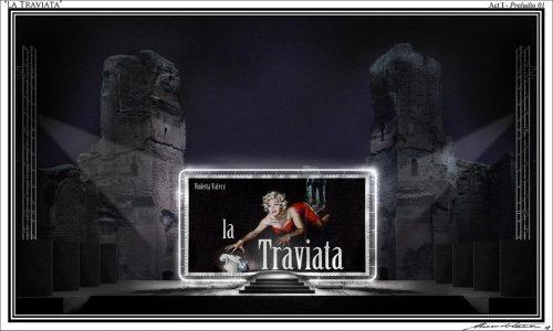 Caracalla -Traviata - bozzetto A.Camera