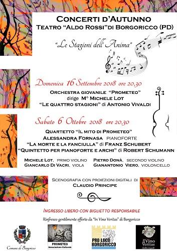 Concerti d'Autunno Borgoricco- Associazione Culturale Prometeo