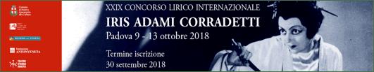 Concorso Lirico Internazionale Iris Adami Corradetti