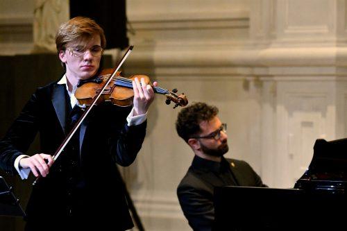 Yury Revich, violino Simone Di Crescenzo, pianoforte