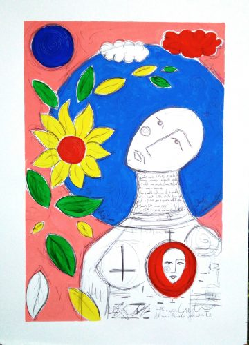 Francisco Garden - Il mio pensiero vola verso te_70x50