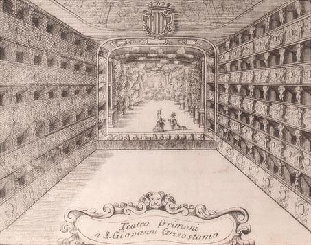 Teatro SS. Giovanni e Paolo -Venezia - Impresario