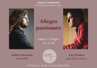 """""""Allegro Passionato"""" – il recital di Axel Trolese e Andrea Nocerino"""