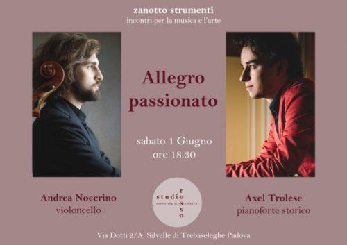 Allegro Passionato-Programma di sala