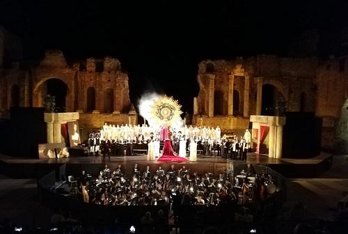 Tosca a Taormina