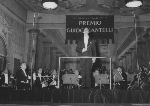 Riccardo Muti vince Premio Cantelli 1967 © Giovetti