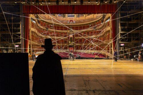 Il Teatro dell'Opera di Roma durante le riprese de Il barbiere di Siviglia Foto: Yasuko Kageyama- Teatro dell'Opera di Roma