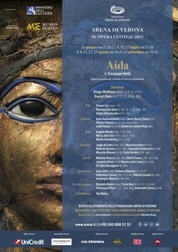 Aida 2021 Arena di Verona