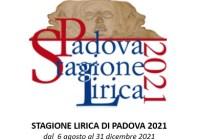 Stagione Lirica di Padova 2021
