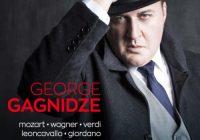 George Gagnidze presenta il suo album d'esordio con l'etichetta Orfeo.